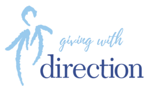 giving with direction logo